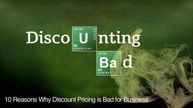 discount pricing strategy disadvantages