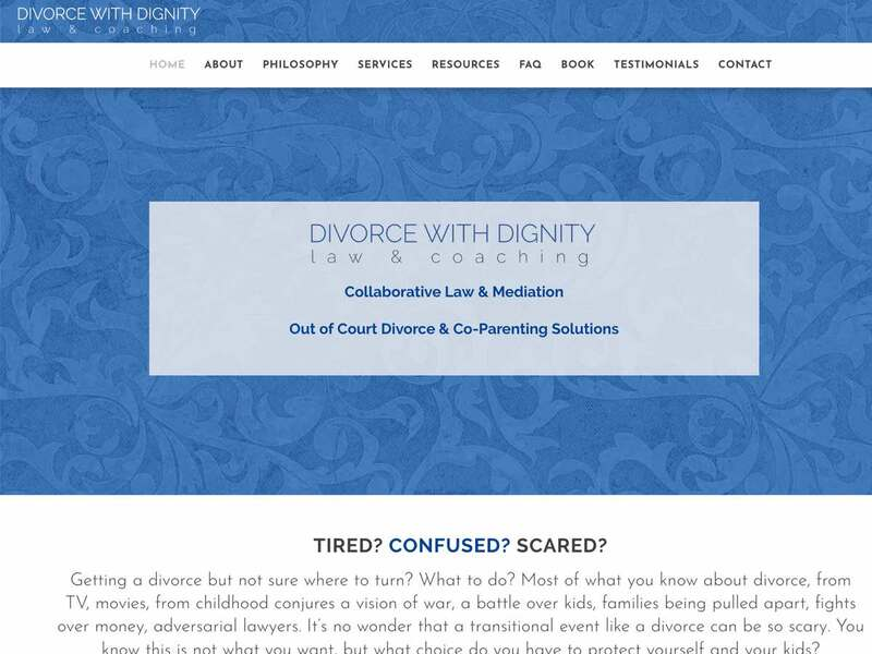 divorce with dignity law website thumbnail